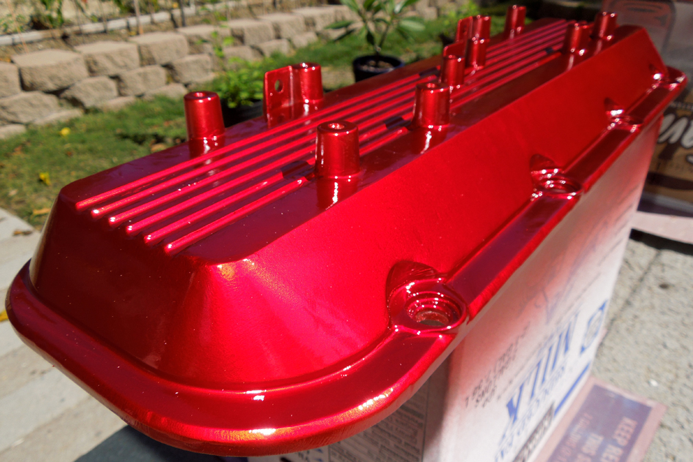 Candy Apple Red Valve Covers