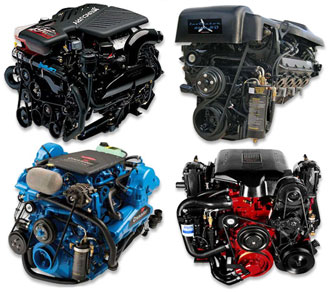 Vortec 8100 8 1L Marine Performance Engine Packages - Mercruiser