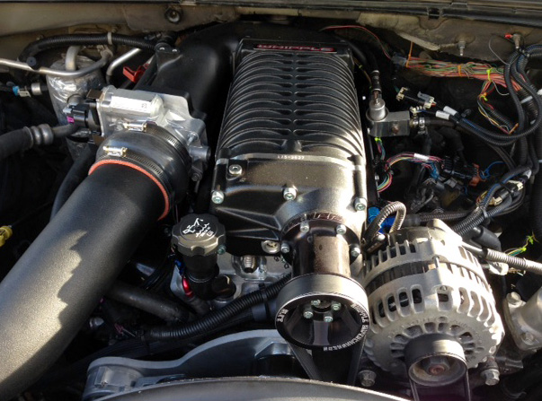8.1L Whipple 2.9L Supercharger | Chevy Truck Forum | GMC ...