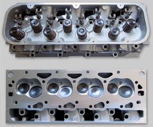 Vortec 8100 8 1L Gen 7 Big Block Chevy CNC Aluminum Cylinder Heads