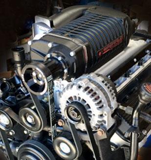 Vortec 8100 8.1L 2.9L Supercharger - 496cid Forced ...